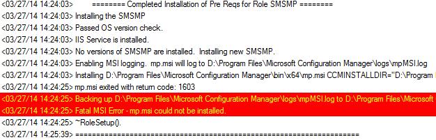 ConfigMgr 2012 R2 Management Point (Verwaltungspunkt